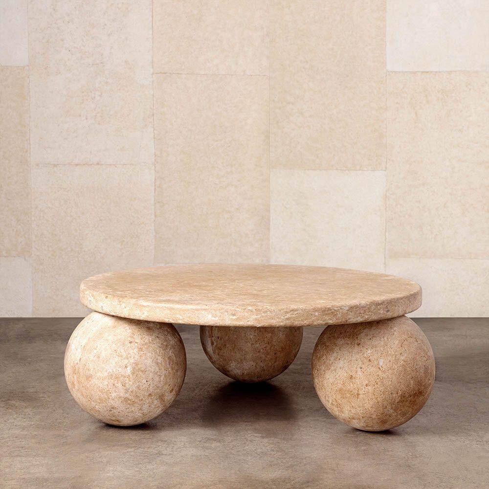 Kelly Wearstler Morro Coffee Table Stone Coffee Table Coffee Table Low Coffee Table [ 1000 x 1000 Pixel ]