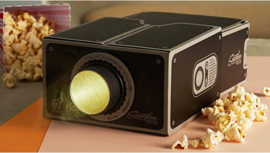 Smartphone projector Great christmas gift ideas & gadgets #geekygifts #coolgadgets #christmasgifts