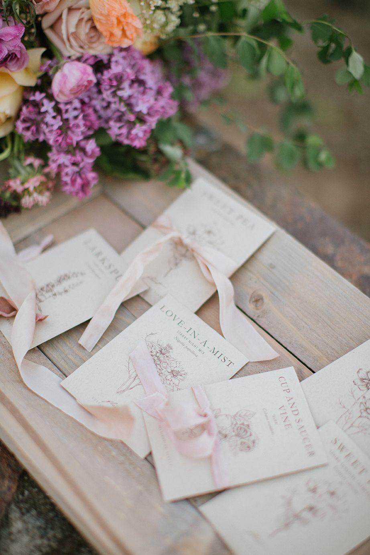 Provençal Garden Bridal Editorial in Sonoma | Favors and Weddings