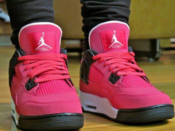 8a278fd14a7 I love these hot pink Jordans!