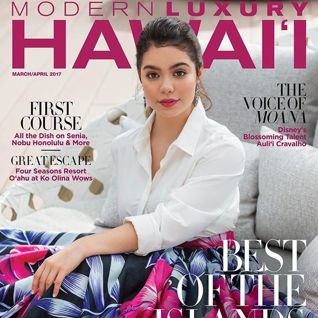Proud to have @auliicravalho on our @modernluxuryhawaii cover... especially tonight as she killed it in her performance at the #oscars! ... #auliicravalho #moana #oscars2017 #hawaii #modernluxuryhawaii #aulii #moanamovie #moanadisney  via MODERN LUXURY MAGAZINE OFFICIAL INSTAGRAM - Luxury  Lifestyle  Culture  Travel  Tech  Gadgets  Jewelry  Cars  Gaming  Entertainment  Fitness