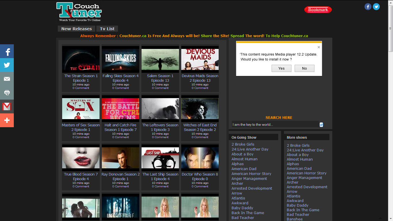 Couchtuner Online Tv Show Tv Shows Online Free Tv Shows Online Watch Free Tv Shows