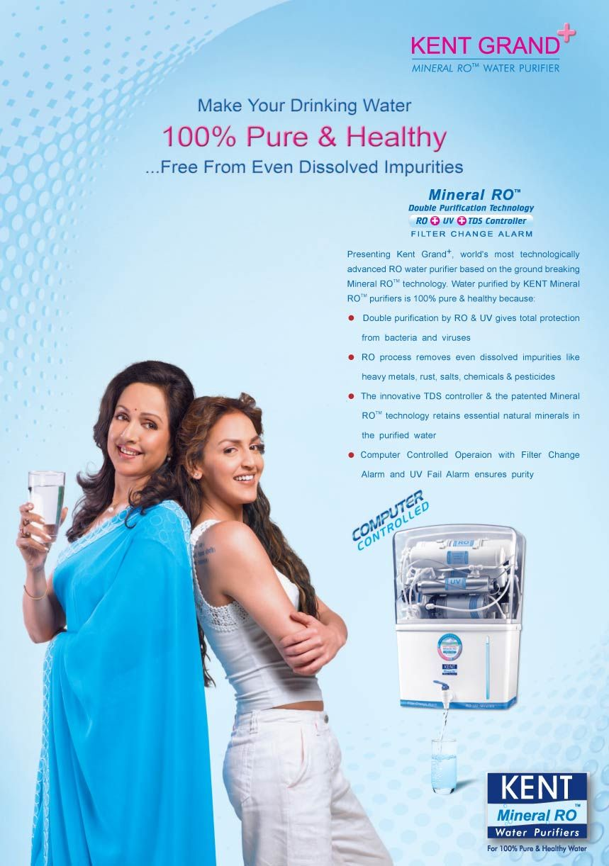 Kent RO Water Purifier one of the renowned name as best