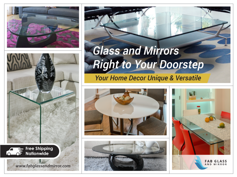 Home Decor At Your Door Check Out The Latest Glass Products On Our Online Store Http Www Fabglassandmirror Com Gla Glass Top Table Home Decor Glass Table