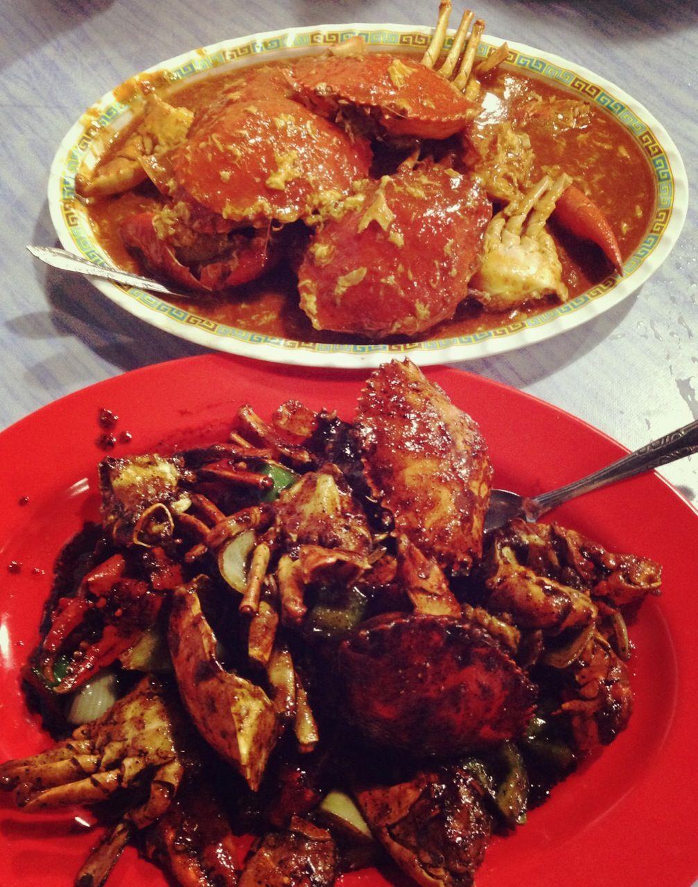 Kepiting Saos Padang Kepiting Saos Lada Hitam Jambul Seafood Medan Kepiting