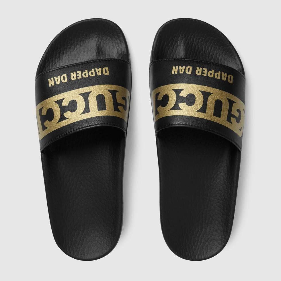 86fc45fd Shop the Women's Gucci-Dapper Dan slide sandal by Gucci. Introducing ...
