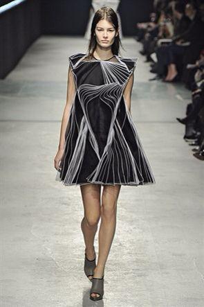 Christopher Kane London Fashion Week Feb 2014