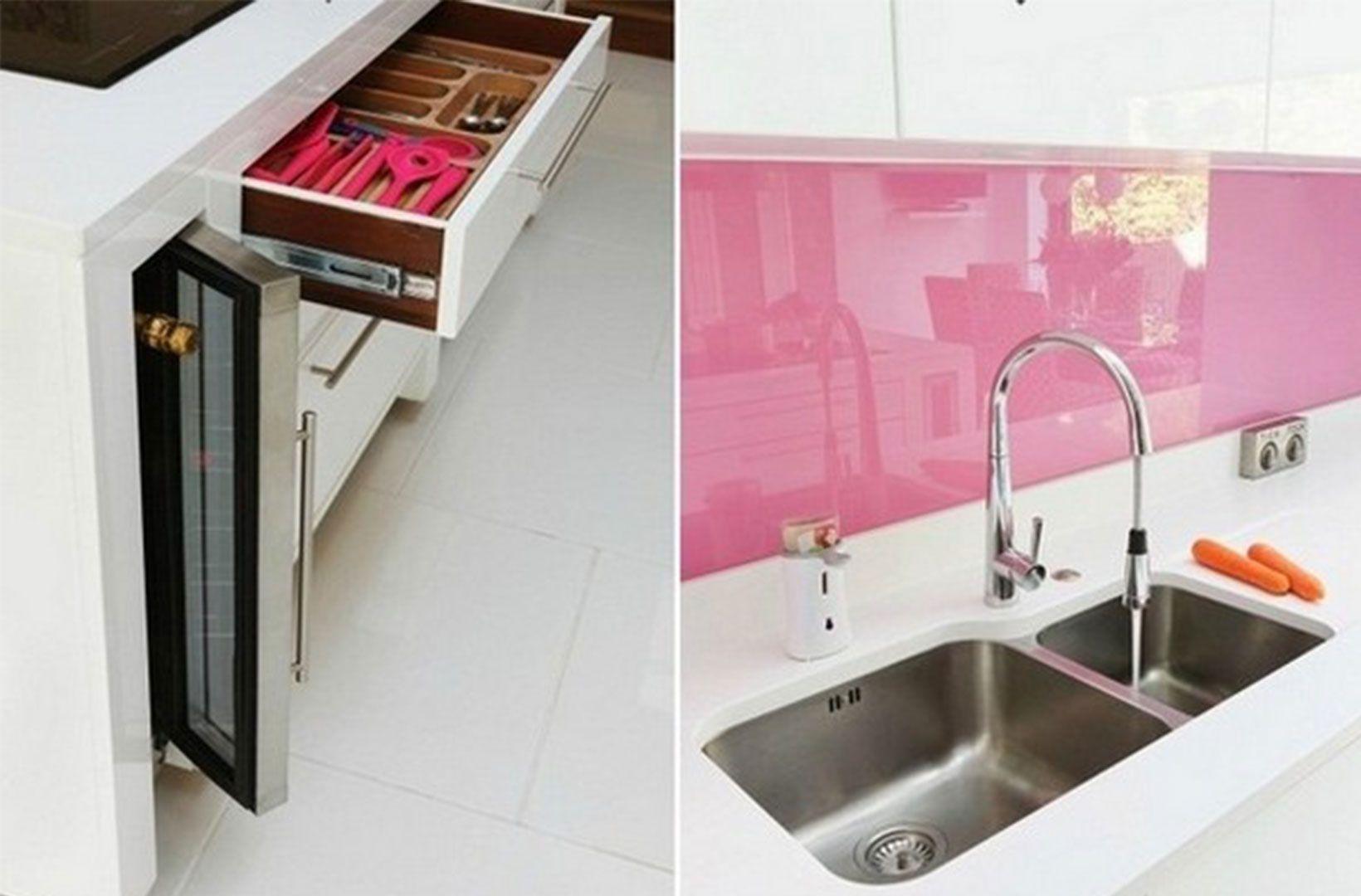 pinuila engel on kitchen | pinterest | pink kitchen designs