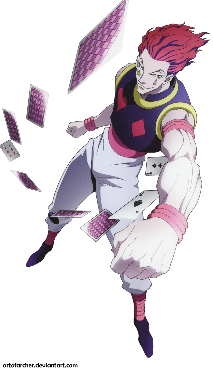Hisoka Render By Artofarcher Hunter Anime Hisoka Hunterxhunter Hisoka