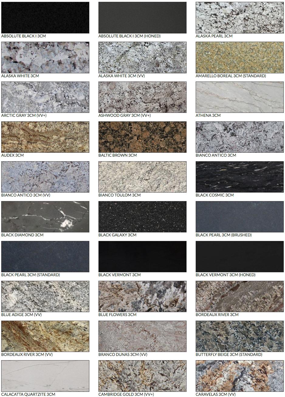 Verona Granite Selection Granite Stone Age Stone