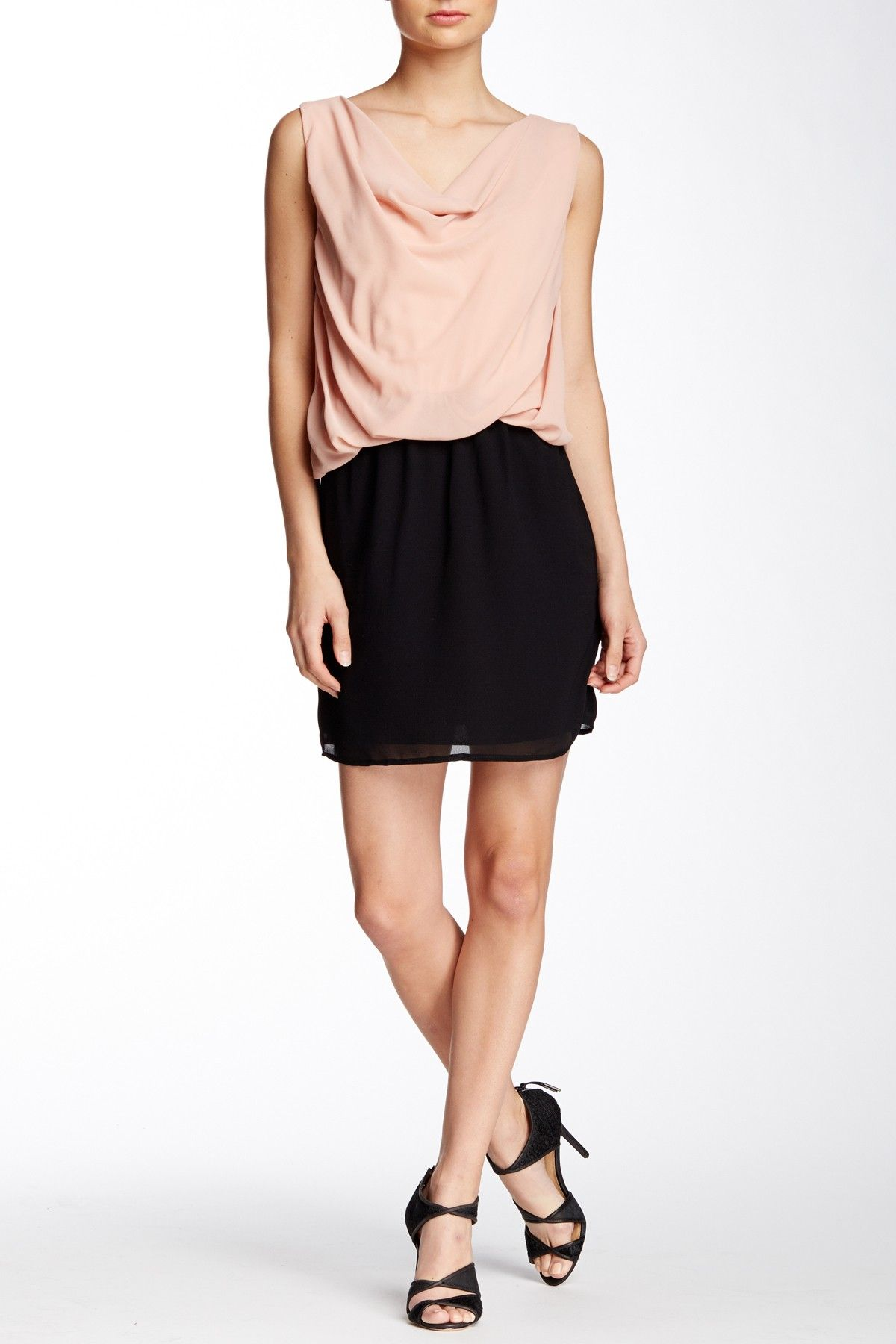 Cowl Neck Party Dress by BLVD on @nordstrom_rack
