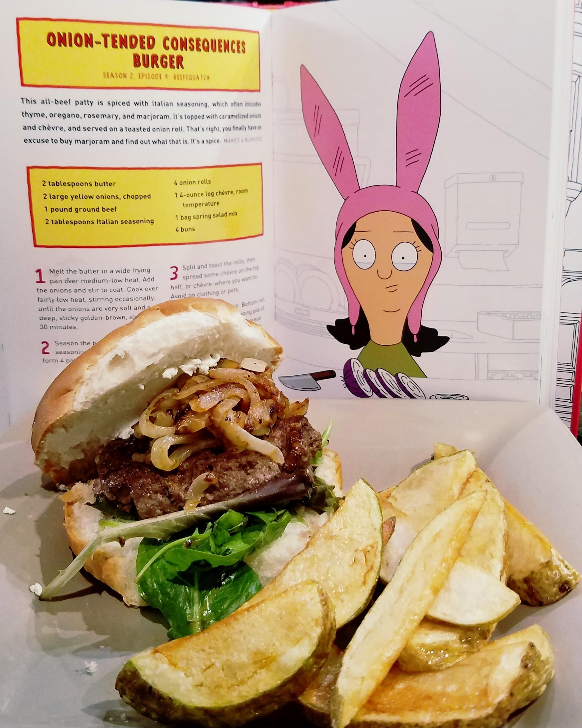Free Bobs Burgers Porn homemade] onion-tended consequences burger from bob's