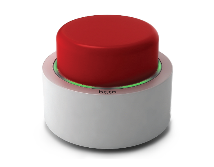Can This Big Red Button Really Do It All Electronic Tattoo Red Button New Gadgets