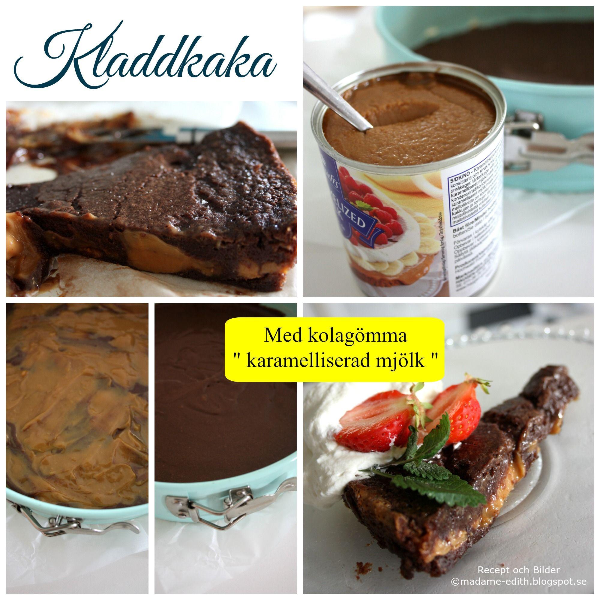 chokladtårta med karamelliserad mjölk