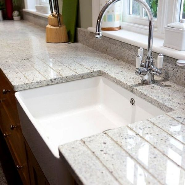 Canvas Of Cashmere White Granite For Countertop And