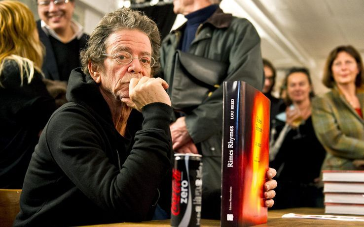 Il nuovo libro di foto di Lou Reed
