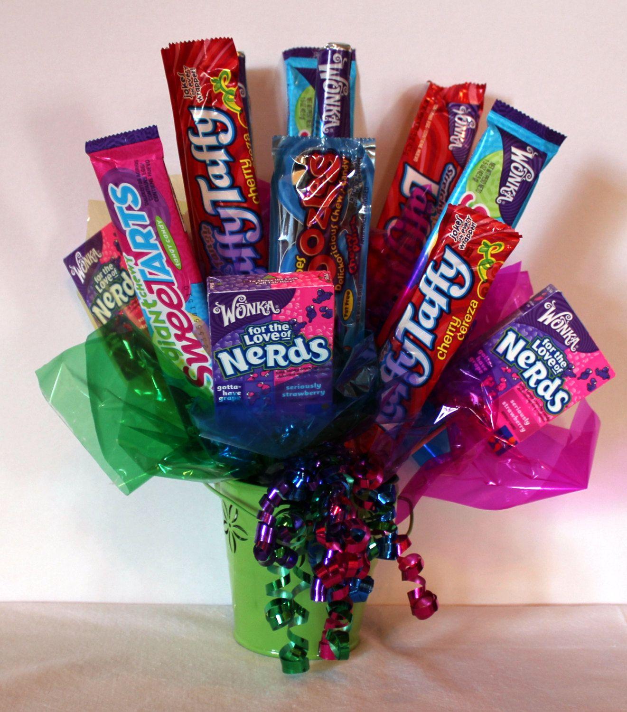 Wonka Candy Bouquet
