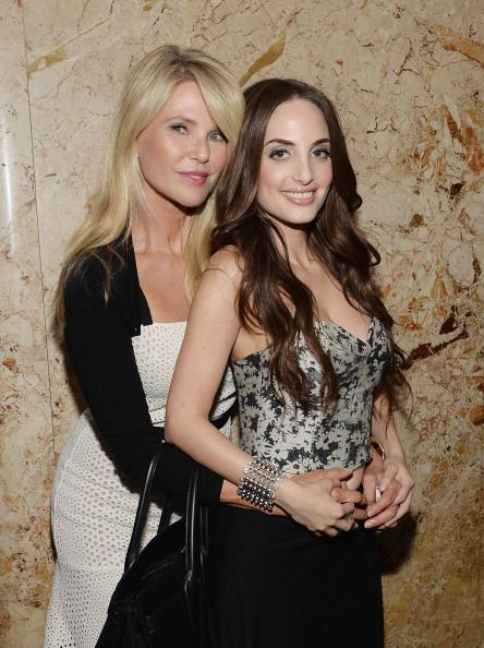 05f00a2b1ab Model actress Christie Brinkley and musician daughter Alexa Ray Joel ...
