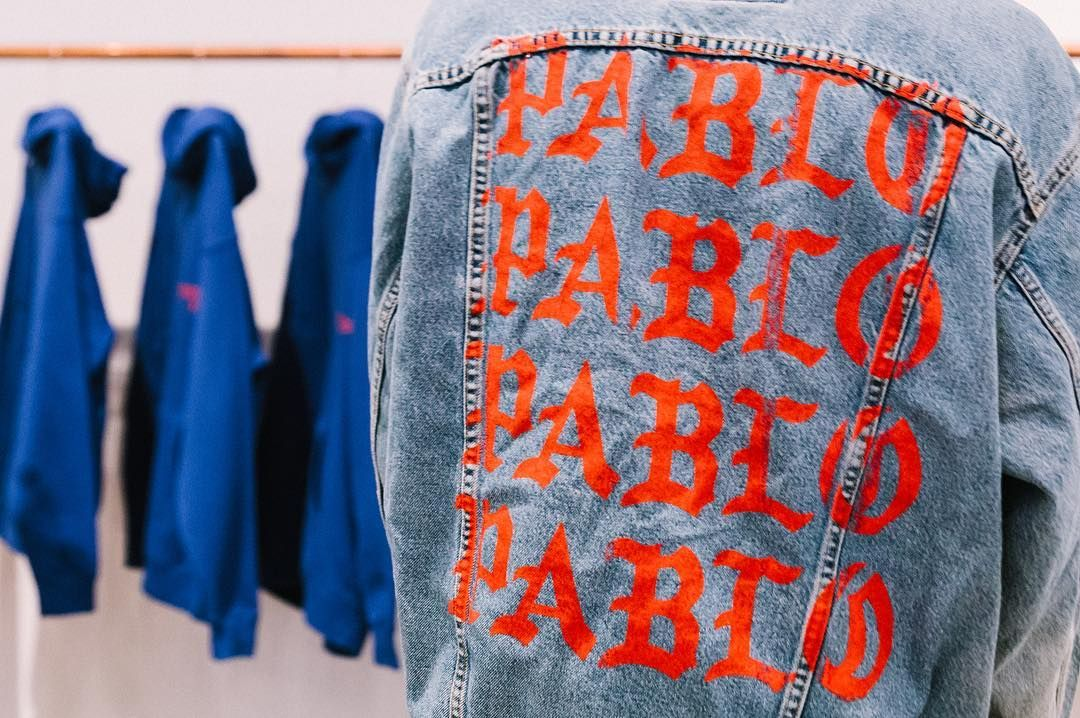 Gq On Instagram Preview Of Kanye S The Life Of Pablo Merch Pop Up Check The Link In Bio To See The F Life Of Pablo Merch Pablo Merch Mens Fashion Streetwear
