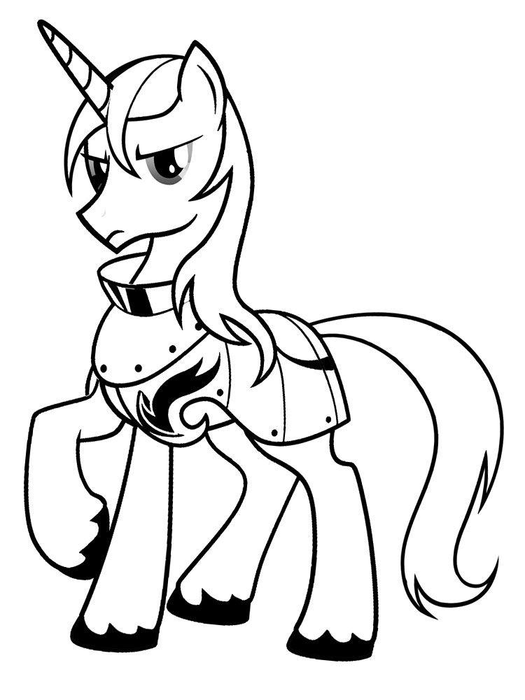 Gratuitos Dibujos Para Colorear My Little Pony Descargar