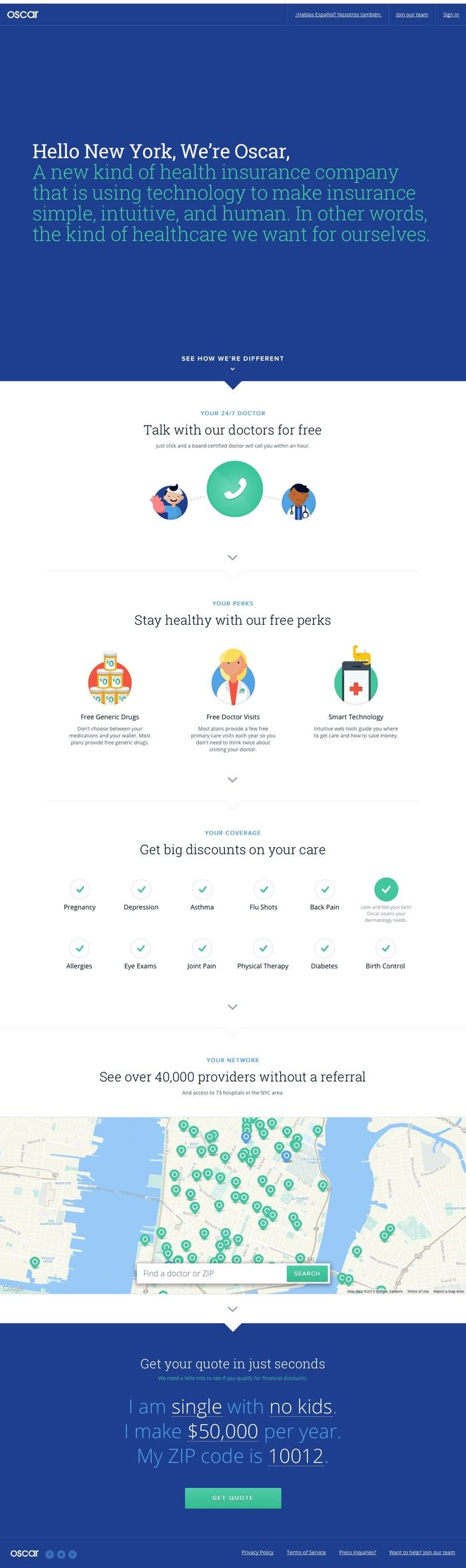 Oscar Health Insurance For New York Jpg Insurance Website Best