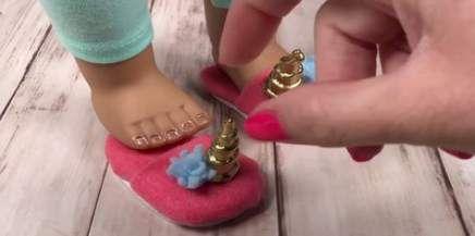 Doll Diy Shoes American Girls 42 Ideas For 2019 #americangirldollcrafts
