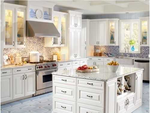 White kitchen cabinets: You will never regret choosing them