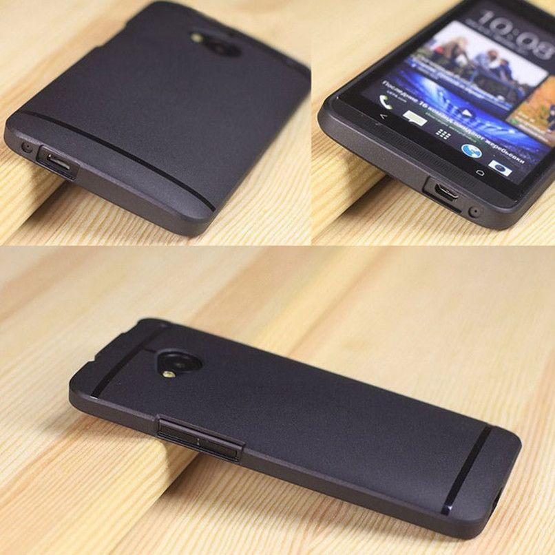 2017 스마트 전화 케이스 커버 초박형 슬림 매트 소프트 TPU 커버 케이스 htc one m7 lcd 화면 보호기 가드