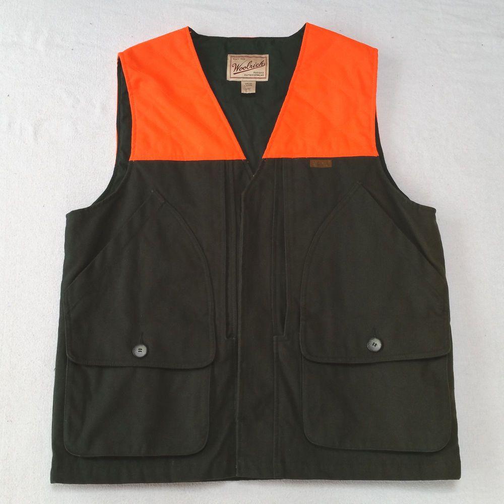Woolrich Orange Vest