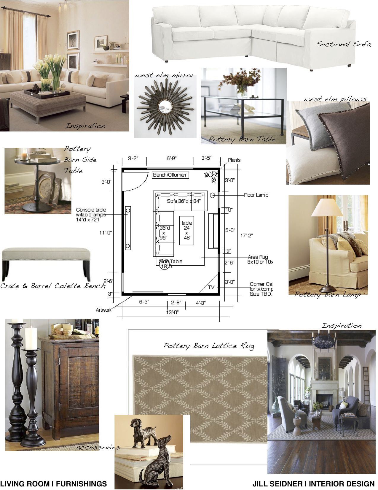 Concept Board For Living Room With Images Interior Design