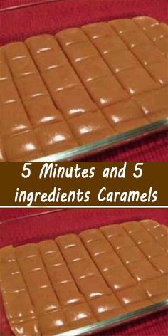 5 Minutes And 5 Ingredients Caramels In 2020 Milk Candy Recipe Candy Recipes Homemade Milk Candy