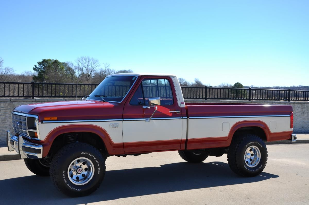 1985 ford f150 4x4 30