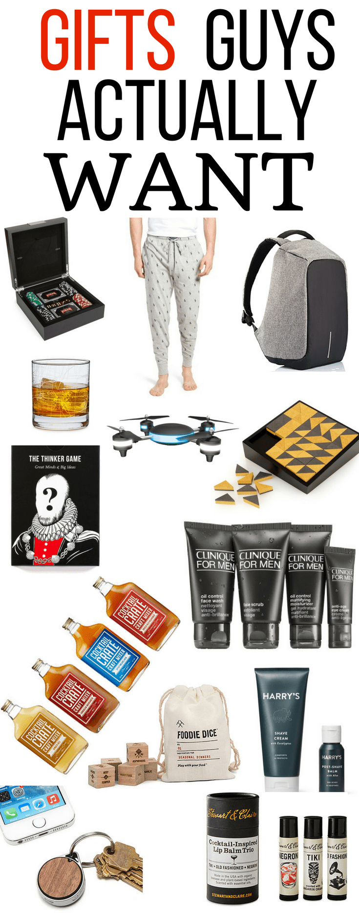 Gifts For Husband Boyfriend Christmas Parents Dad Holiday Shopping Men Him Drone Polo Beer