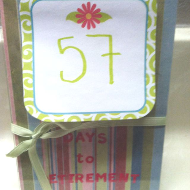 Retirement Countdown  Pretty Dollar Spot Sticky Notes Cheap