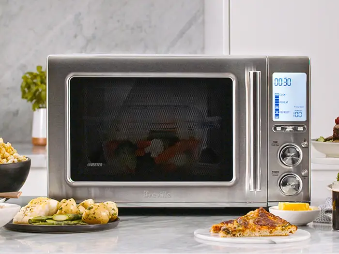 combi wave combines a microwave oven