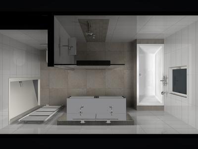 Bekijk de foto van Inge88 met als titel Badkamer idee voor kleine ...
