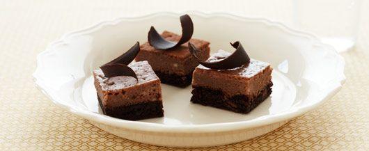 Chocolate Chocolate Chip Cheesecake Bars