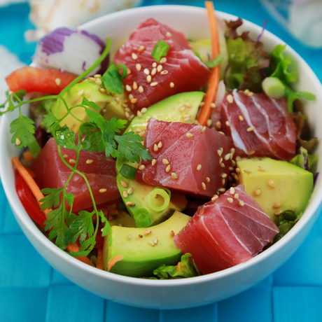 Poke Bowl with Avocado