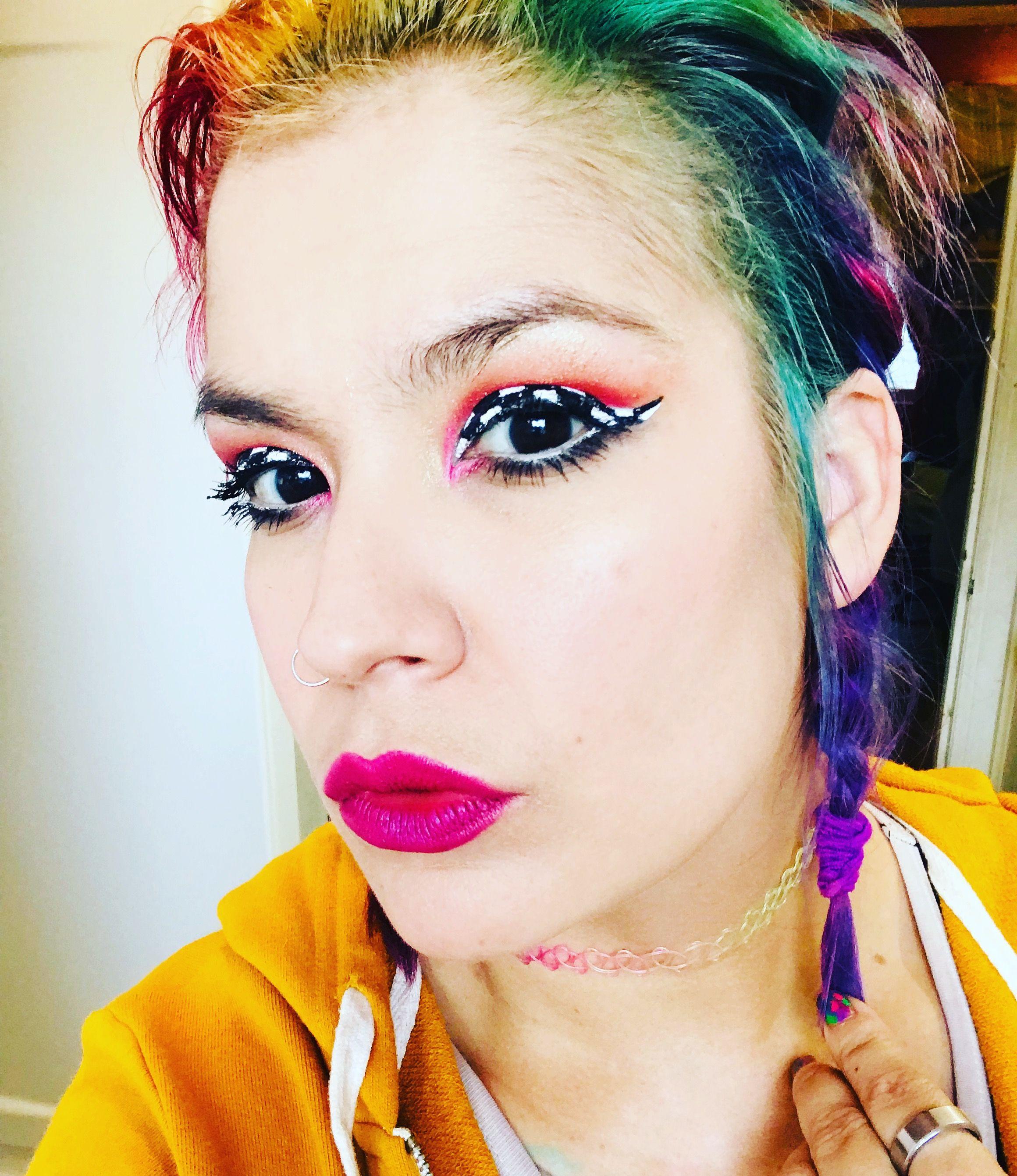 Pin Von Tamara Whitworth Auf Roller Derby Makeup Tamara Obscura