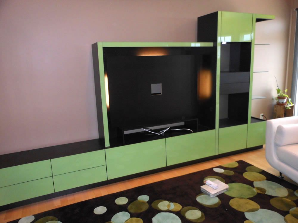 Custom Wall Unit in Short Hills, NJ | Custom wall, Furniture ...