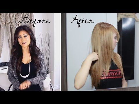 How To Lighten Hair At Home Updated No Bleach Youtube