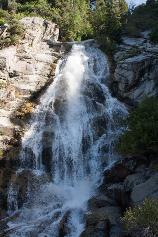 Battlecreekfalls Added By Katelocke Canyoneer And Hike Pleasant Grove Utah There Is A Scenic Waterfall On Battle