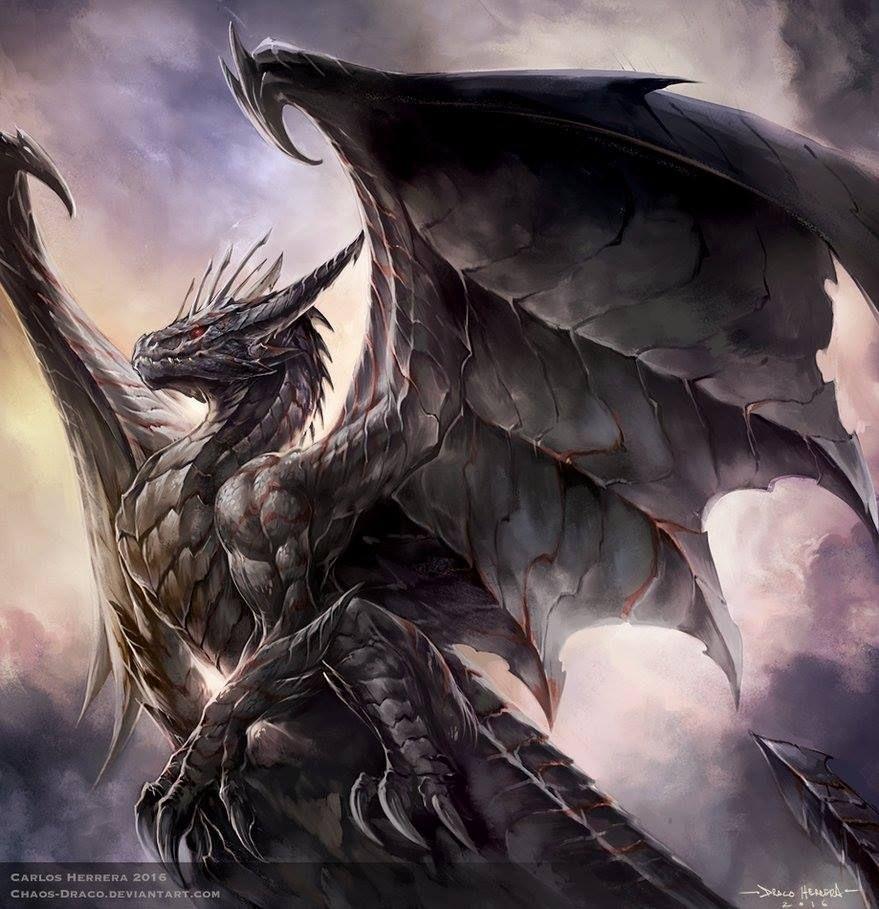 wallpaper dragon jackals waiting - photo #18