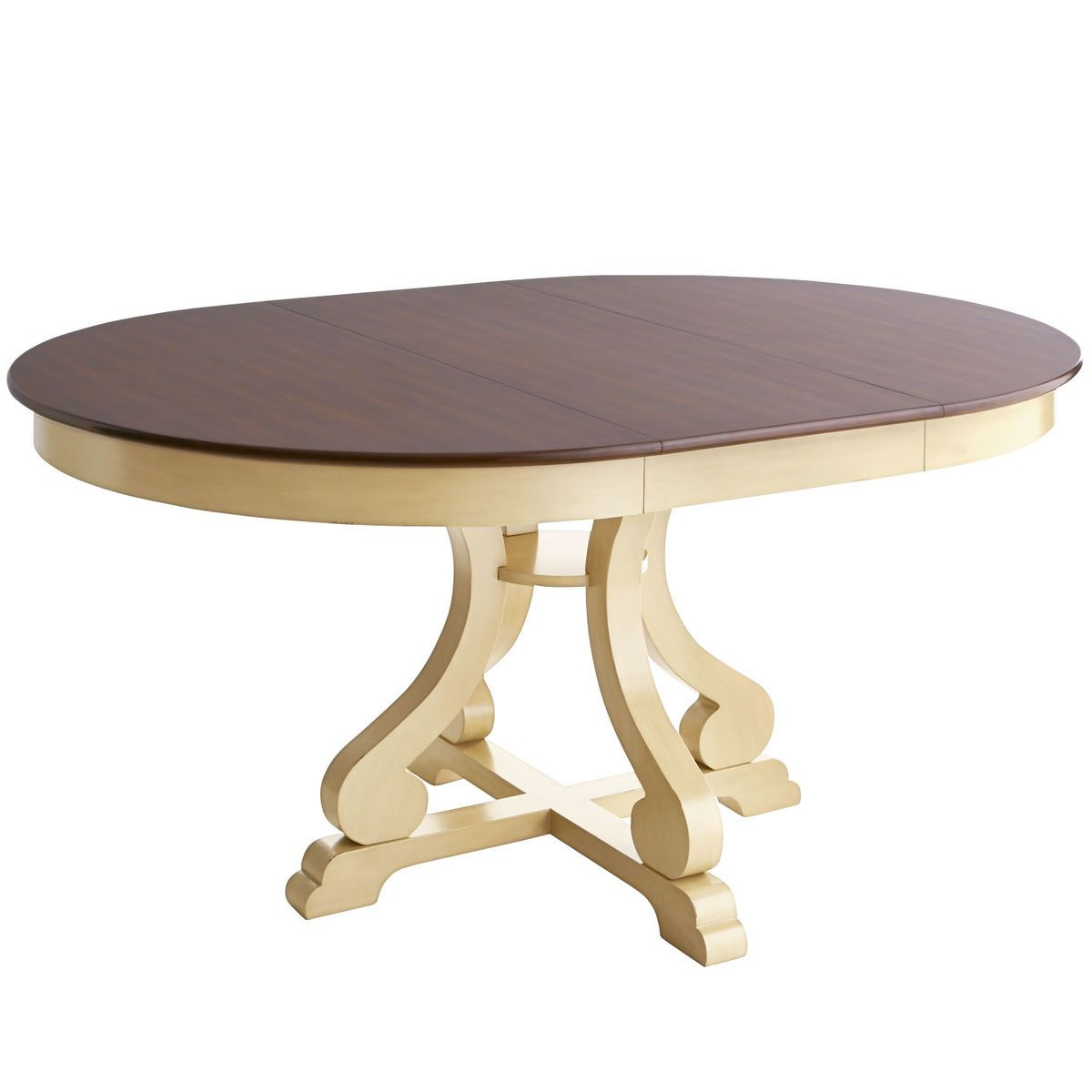 Marchella Extension Antique Ivory Dining Table | Extensions