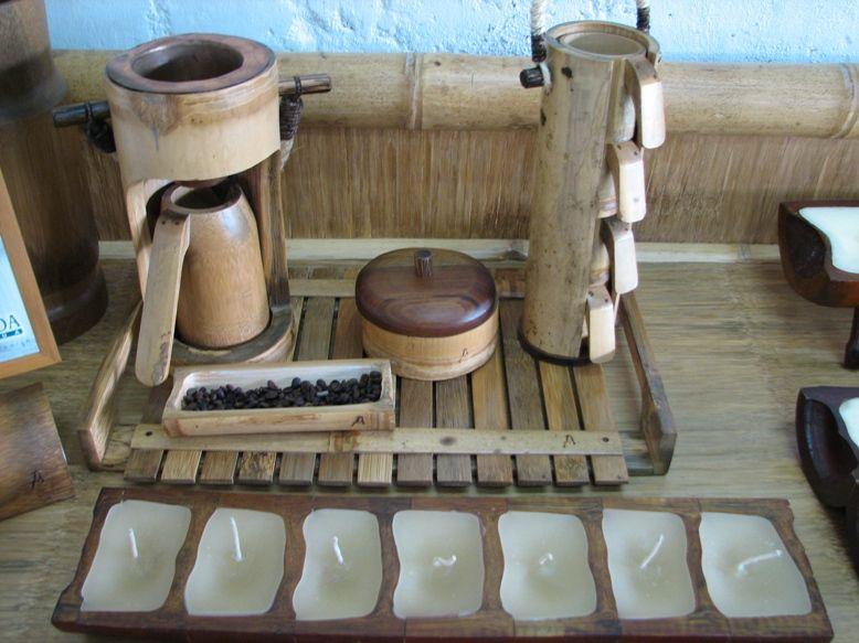 artesanas y muebles en guadua y bamb