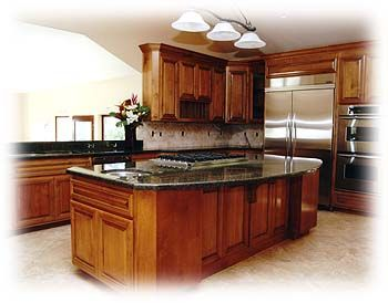Cooktop in island kitchen remodel ideas pinterest for Perfect kitchen and bath