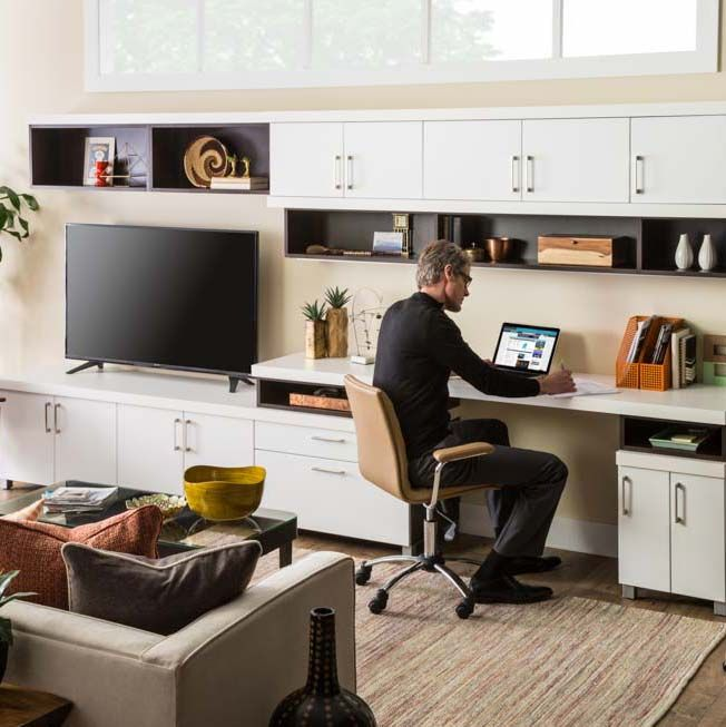Donu0027t Let Your Home Office Or Entertainment Options Be Limited By Small  Spaces. Good Design Can Make The Most Of Any Space. Nola Closets Can  Install Custom ...