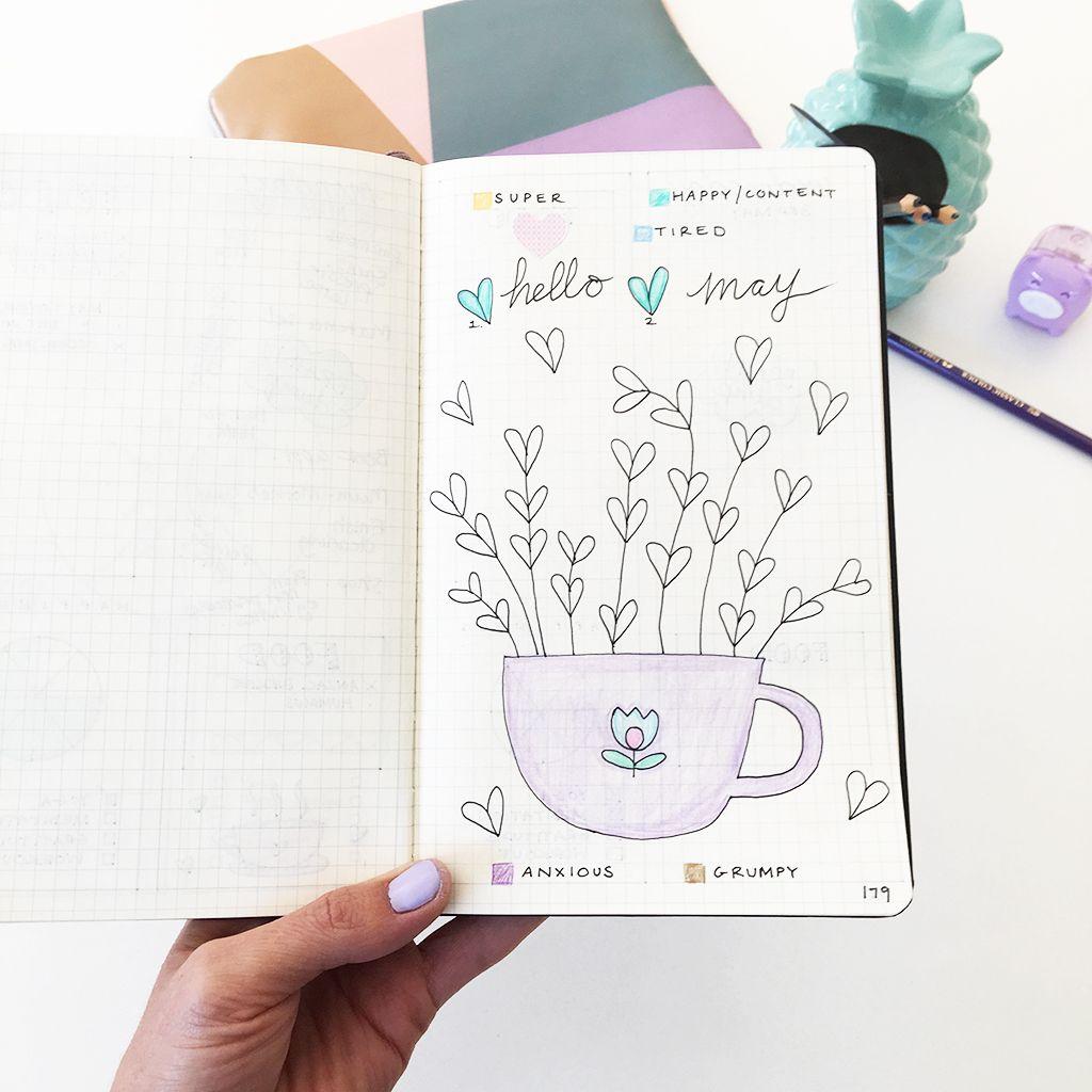 Printable Mood Tracker For Bullet Journal