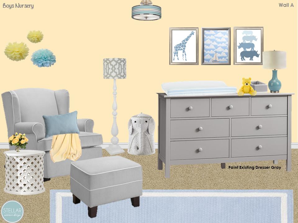 Nursery Decor Themes E Design Decorating Online Interior
