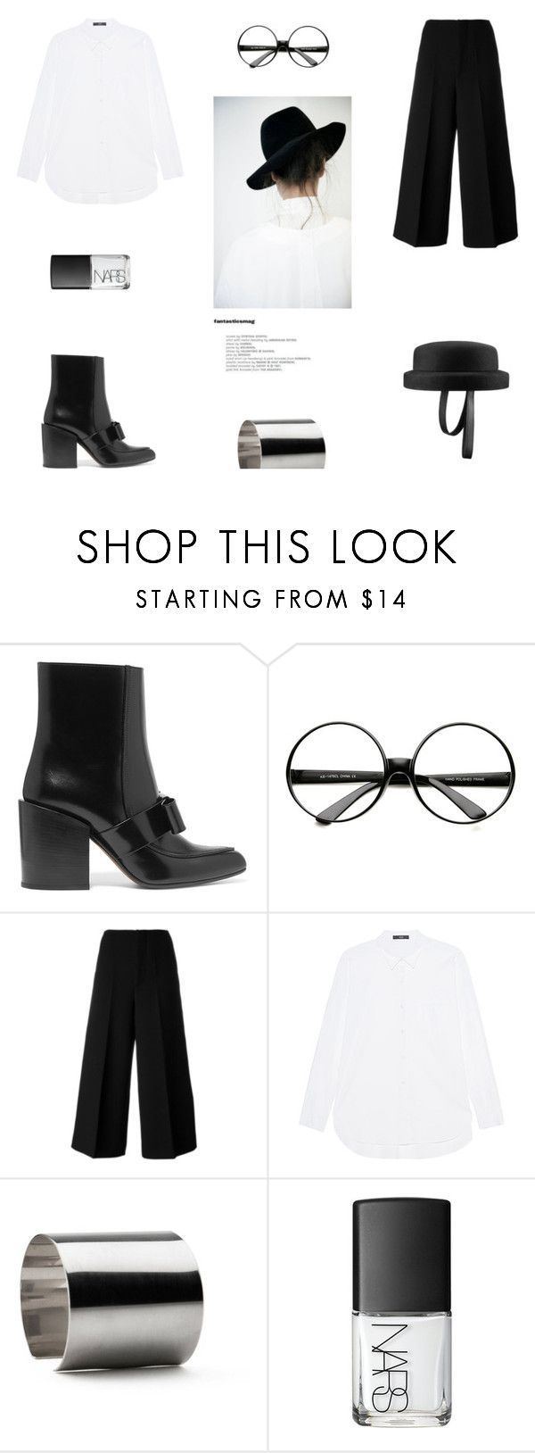 """""""THURSDAY"""" by canvas-moods ❤ liked on Polyvore featuring Chanel, Marni, ZeroUV, Steffen Schraut, Maria Dorai Raj, NARS Cosmetics and contemporary"""